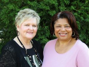 At Home Scheduler Lynn Cullen and Office Manager B J Veney